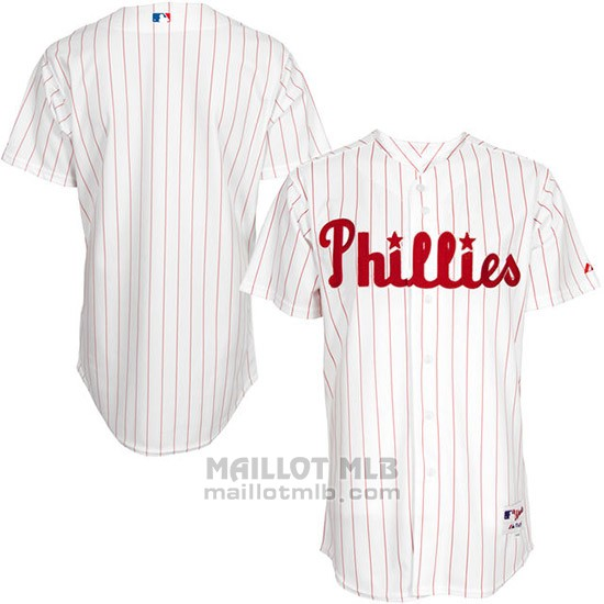Maillot Baseball Homme Philadelphia Phillies Authentique Turn Back The Clock Blanc