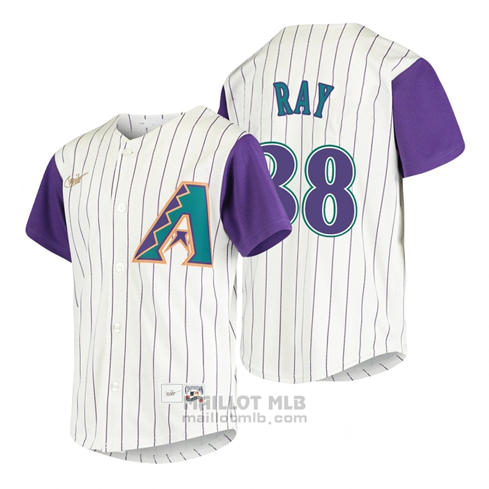 Maillot Baseball Enfant Arizona Diamondbacks Robbie Ray Cooperstown Collection Alterner Creme
