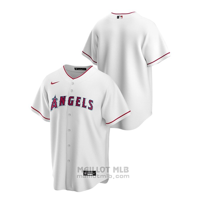 Maillot Baseball Homme Los Angeles Angels Replique Primera Blanc