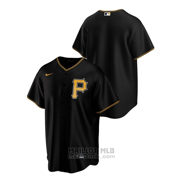 Maillot Baseball Homme Pittsburgh Pirates Replique Alterner Noir