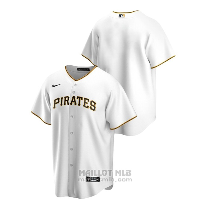 Maillot Baseball Homme Pittsburgh Pirates Replique Primera Blanc