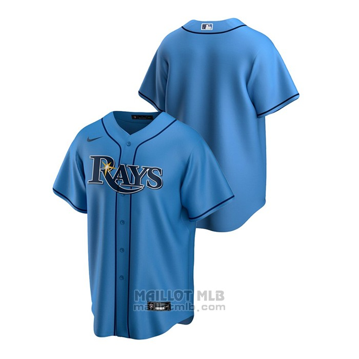 Maillot Baseball Homme Tampa Bay Rays Replique Alterner Bleu