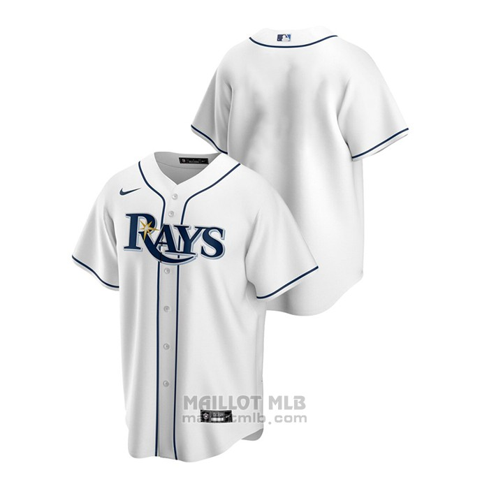 Maillot Baseball Homme Tampa Bay Rays Replique Primera Blanc