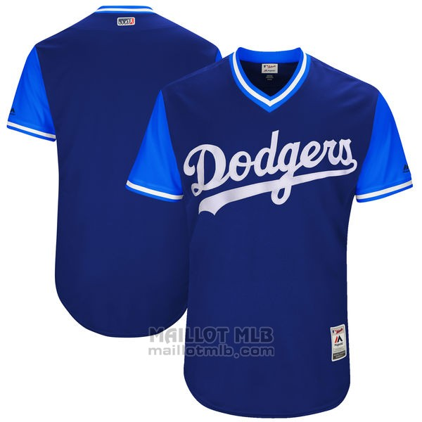 Maillot Baseball Homme Los Angeles Dodgerss Players Weekend 2017 Personnalise Bleu